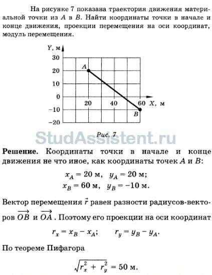 Координаты точки решение задач задача по алгебре 8 класс мордкович решение