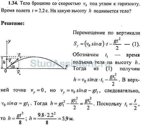 Решение задач по физики тело брошено задачи про параллелограмм на решение