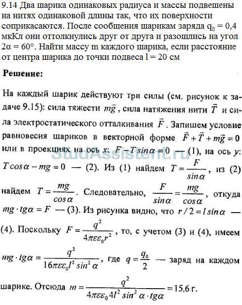 I решение задач из волькенштейна по физике задачи егэ по растворам решение
